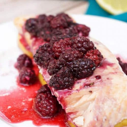 Blackberry Lemon Salmon