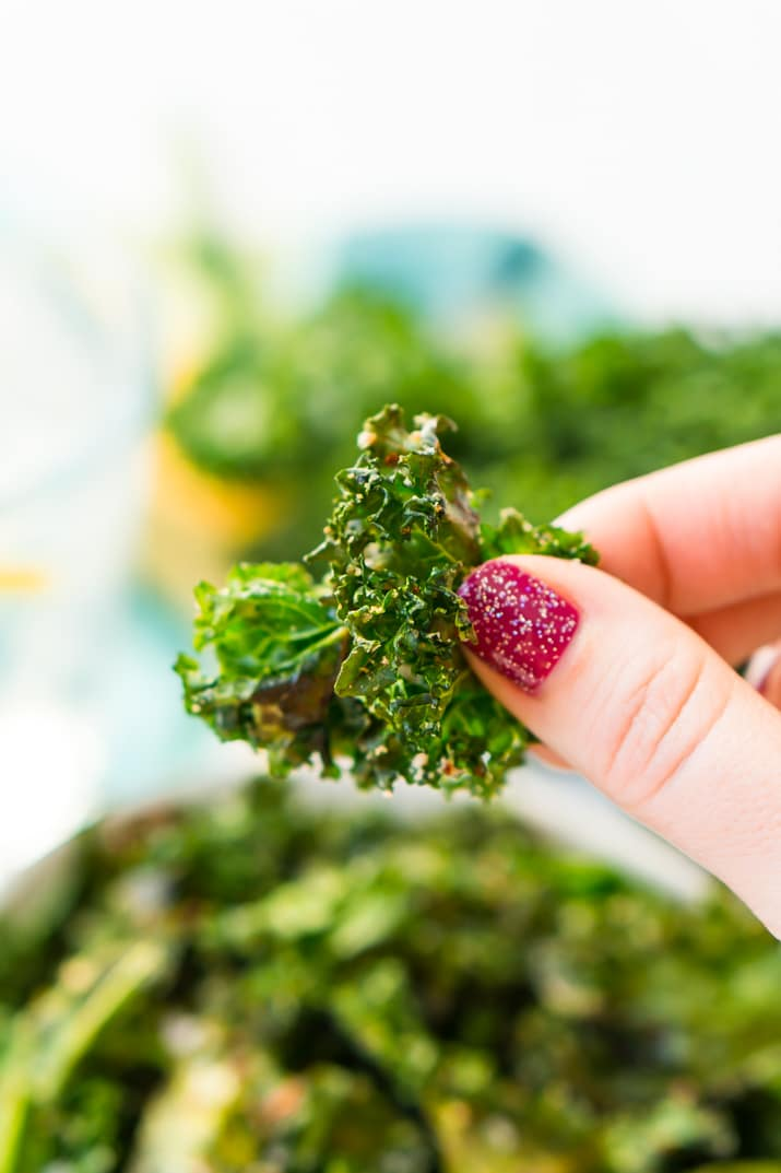 Kale Chips Weight Watchers Snack