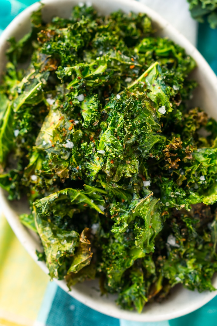 Kale Chips - A healthy and delicious snack