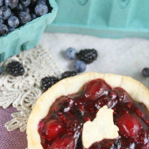Maine Berry Patch Pie