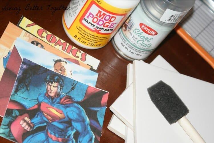 Superman Coasters