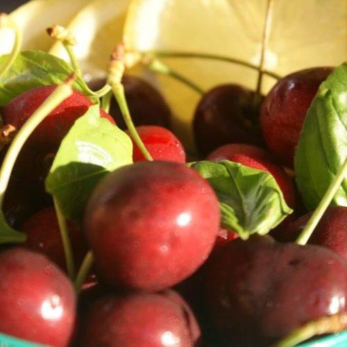 Cherry Basil Lemon Fizz