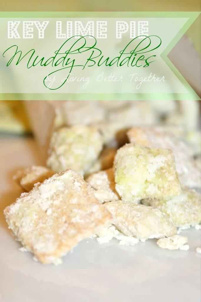 Key Lime Pie Muddy Buddies