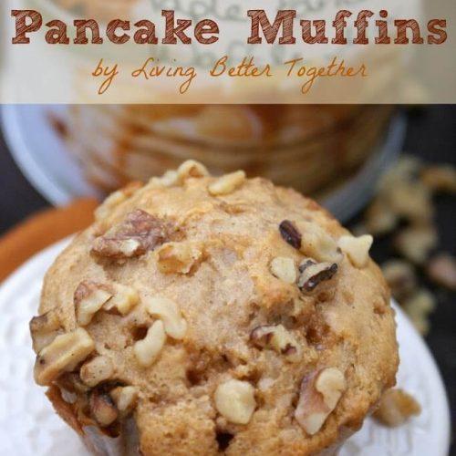 Maple Walnut Pancake Muffins