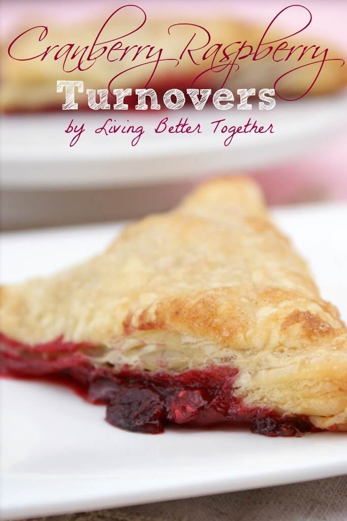 Cranberry Raspberry Turnovers