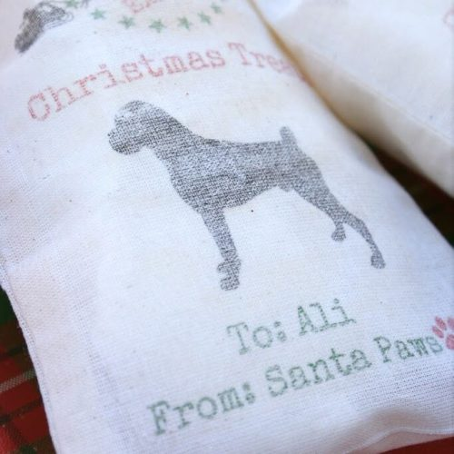 Christmas Dog Treat Bags