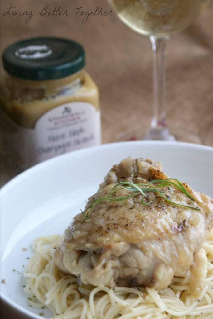 Maple Champagne Mustard Chicken