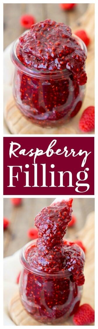 How To Make Raspberry Filling Recipe Sugar Amp Soul