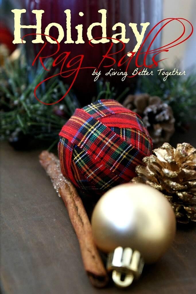 Holiday Rag Balls
