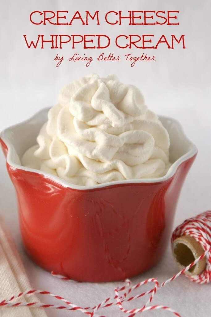Cream Cheese Whipped Cream - Sugar & Soul
