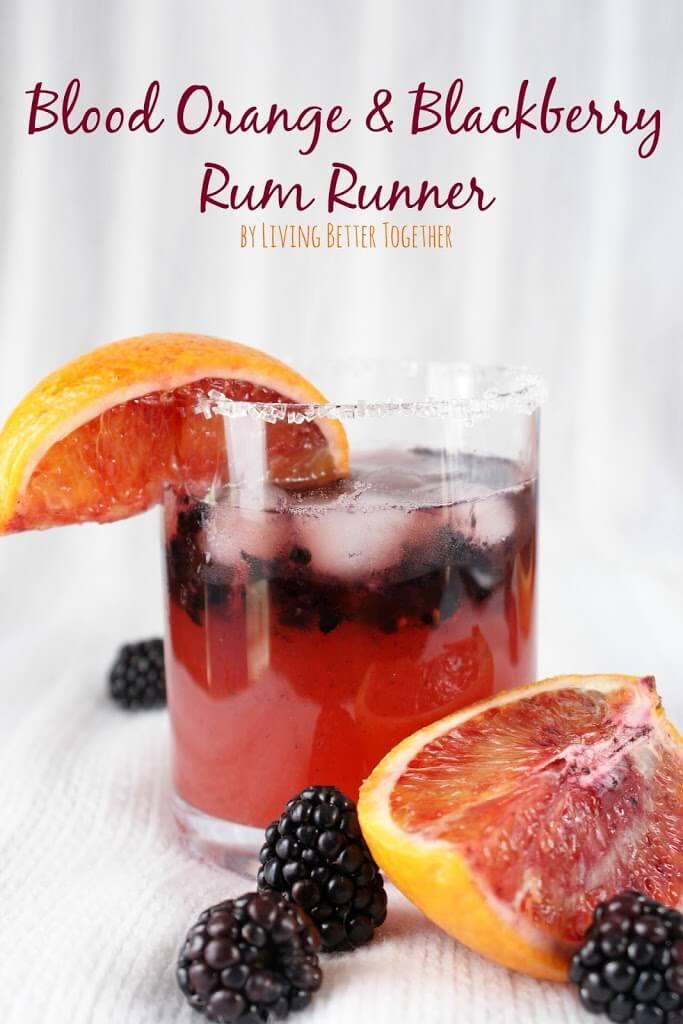 Blood Orange & Blackberry Rum Runner