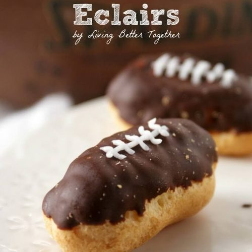 Mini Football Eclairs