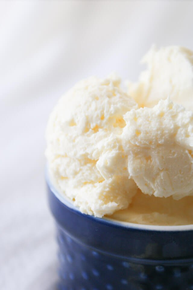 Did you know you could make good old fashioned butter in your blender? This Blender Butter is so easy, creamy, and delicious!