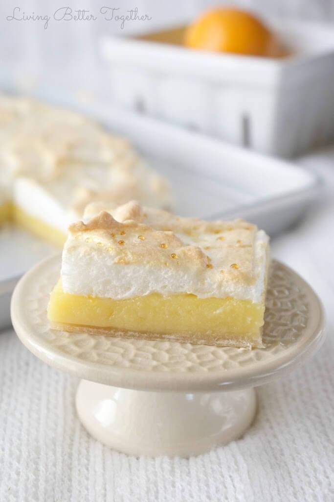 Meyer Lemon Meringue Slab Pie Living Better Together