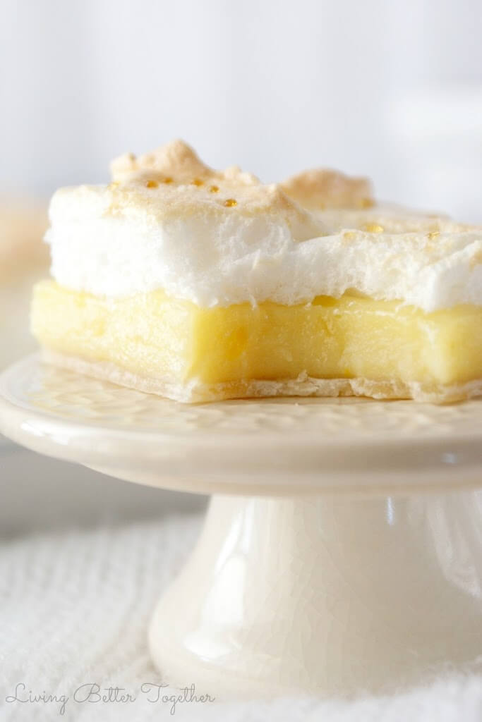 Meyer Lemon Meringue Slab Pie | Living Better Together
