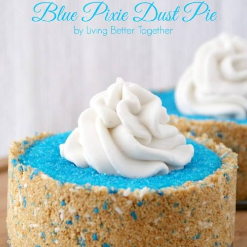 The Pirate Fairy's Blue Pixie Dust Pie