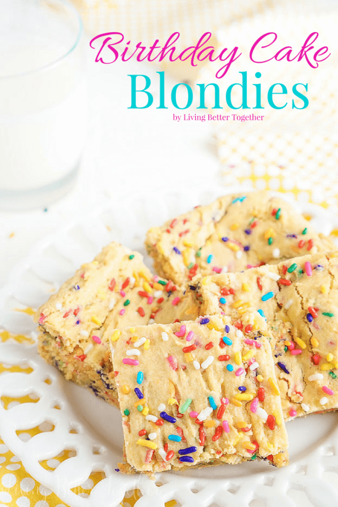 Easy Blondie Recipe Cake Mix