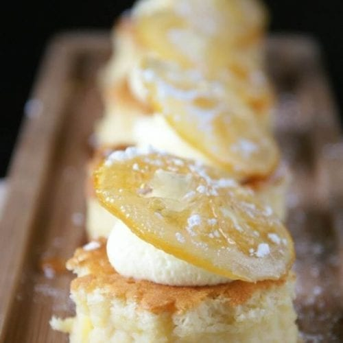Sansa's Lemon Cakes