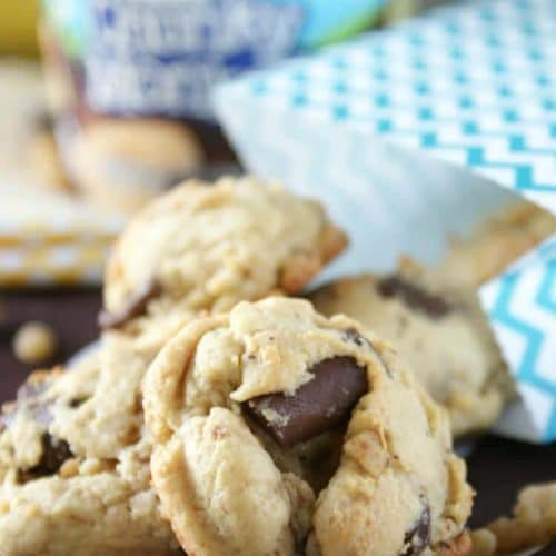 Chunky Monkey Pudding Cookies