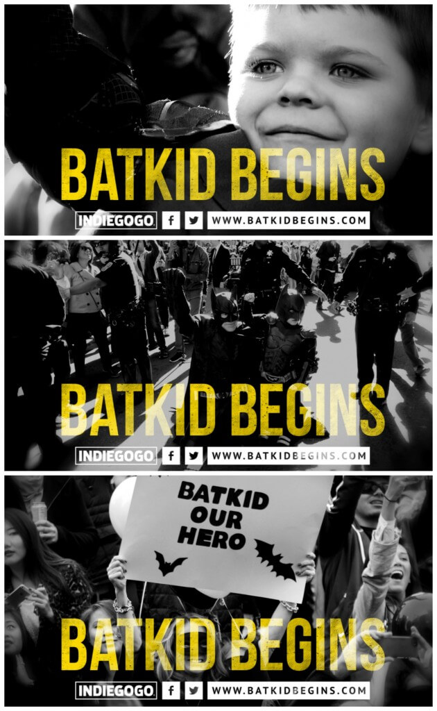Batkid Begins - A documentary about a special boy and an amazing day in Gotham. Click through to find out more about this incredible film and how you can give your support! | www.sugarandsoul.co #CGC #BatkidBegins
