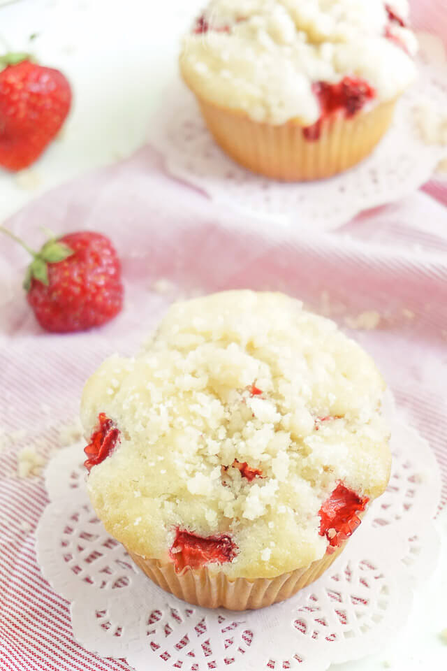 Berry Coffee Cake Muffins