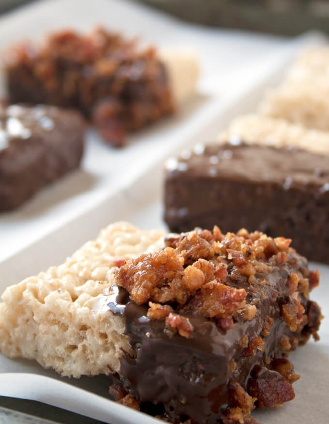 Bacon and Chocolate Rice Crispy Treats