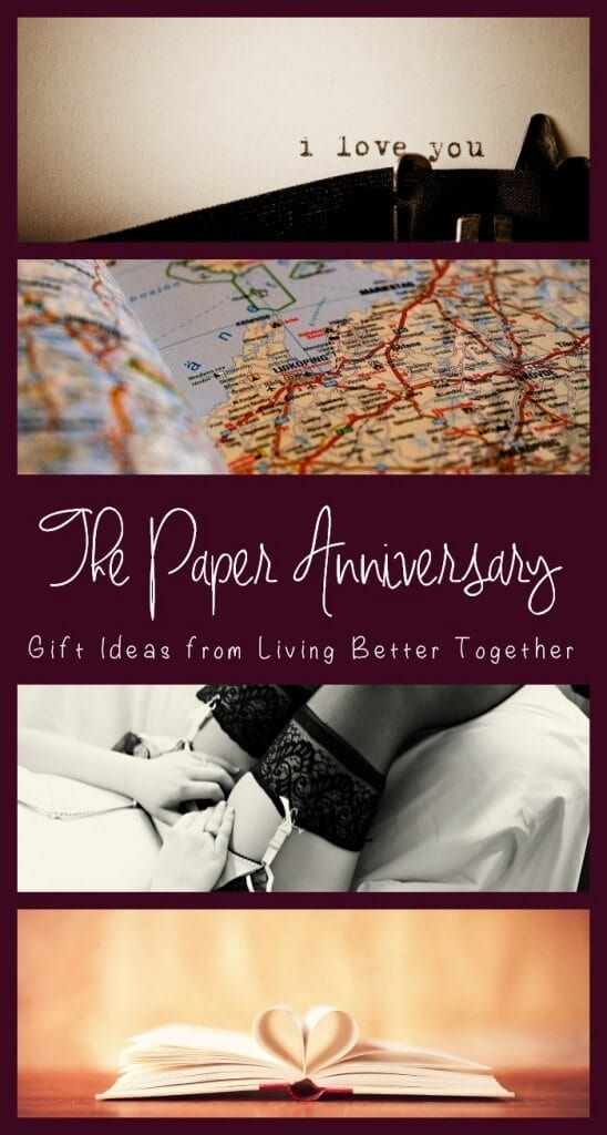 The paper anniversary gift ideas living better together for Paper gift ideas for anniversary