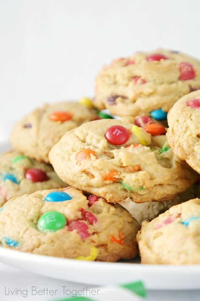 M&M's® Pudding Cookies | Living Better Together