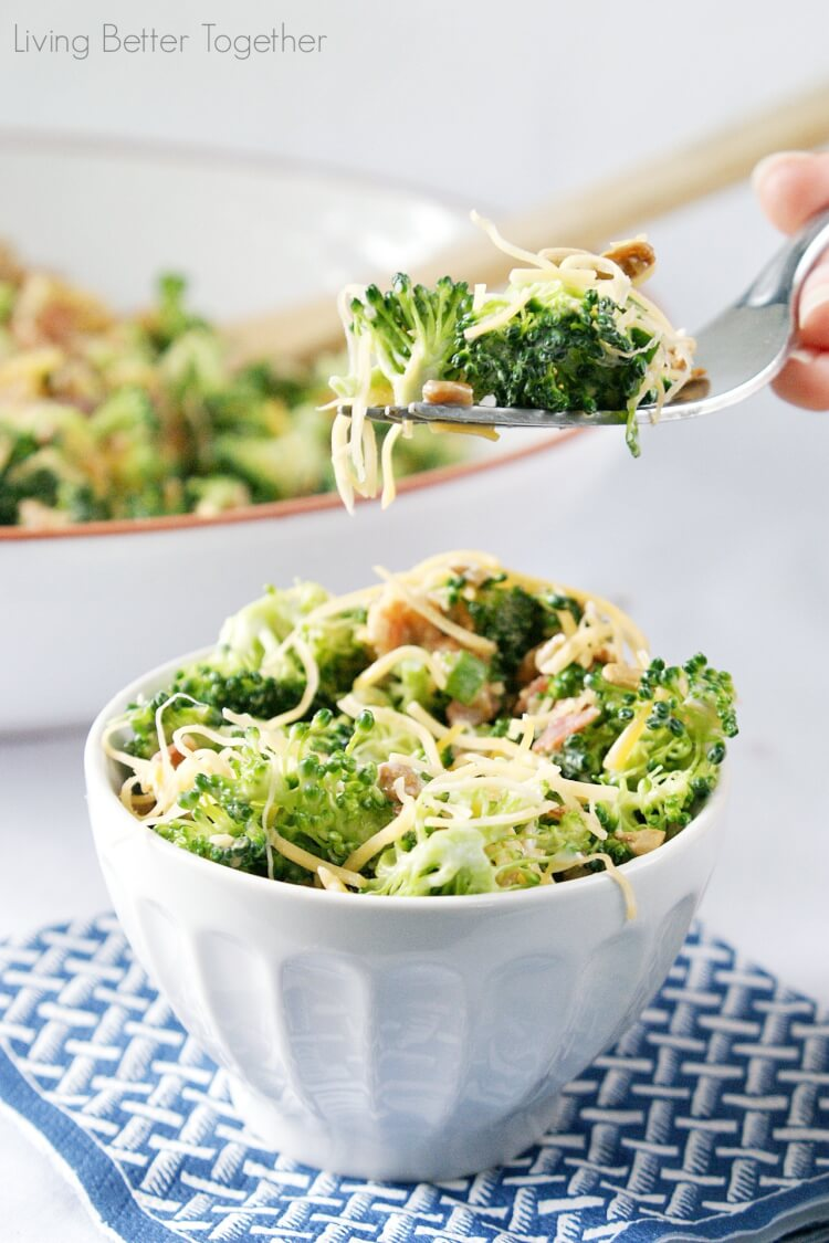 Sweet Broccoli Salad | Living Better Together
