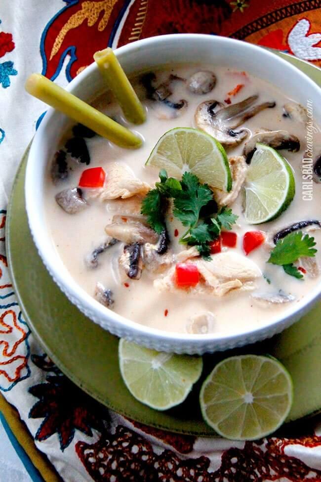 Tom Kha Gai (Chicken Coconut Soup) | Sugar & Soul