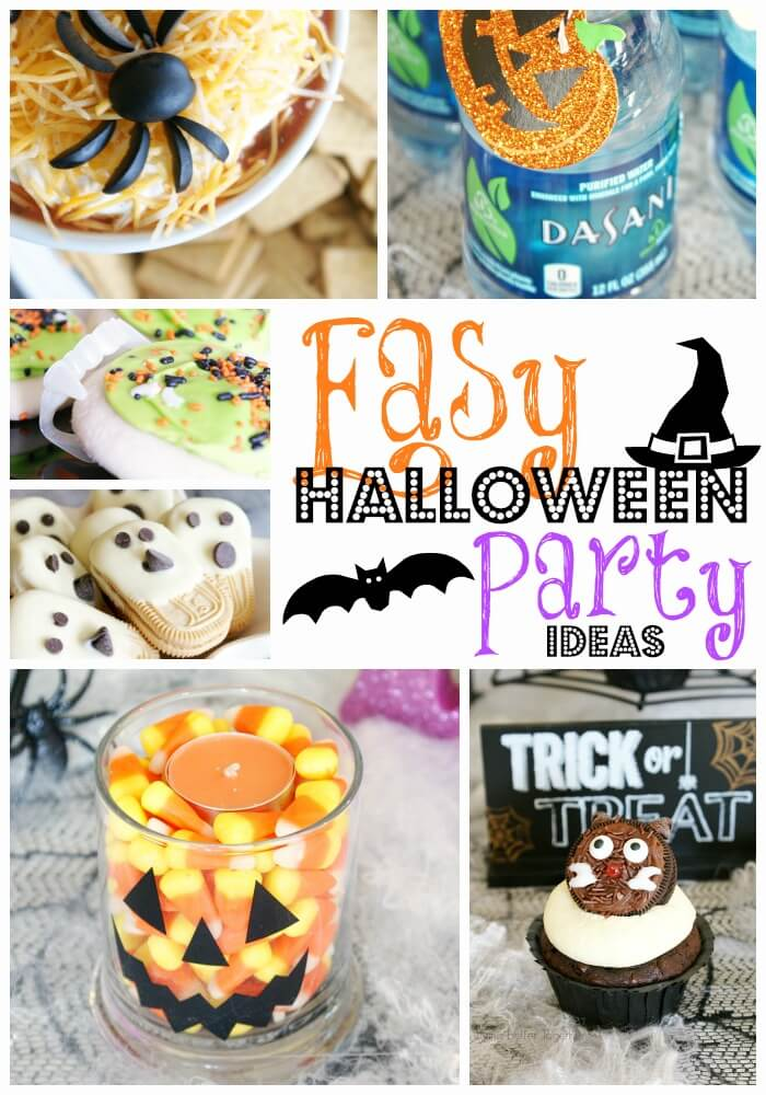 An easy Halloween Snacks party made by spooking up some of your favorite everyday snacks that everyone at the party will love!