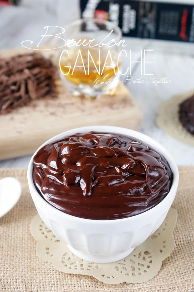 Bourbon Ganache - The caramel, vanilla, and oak notes of Jim Beam's Black Label Bourbon blend with chocolate and cream for a bowl of pure decadence.
