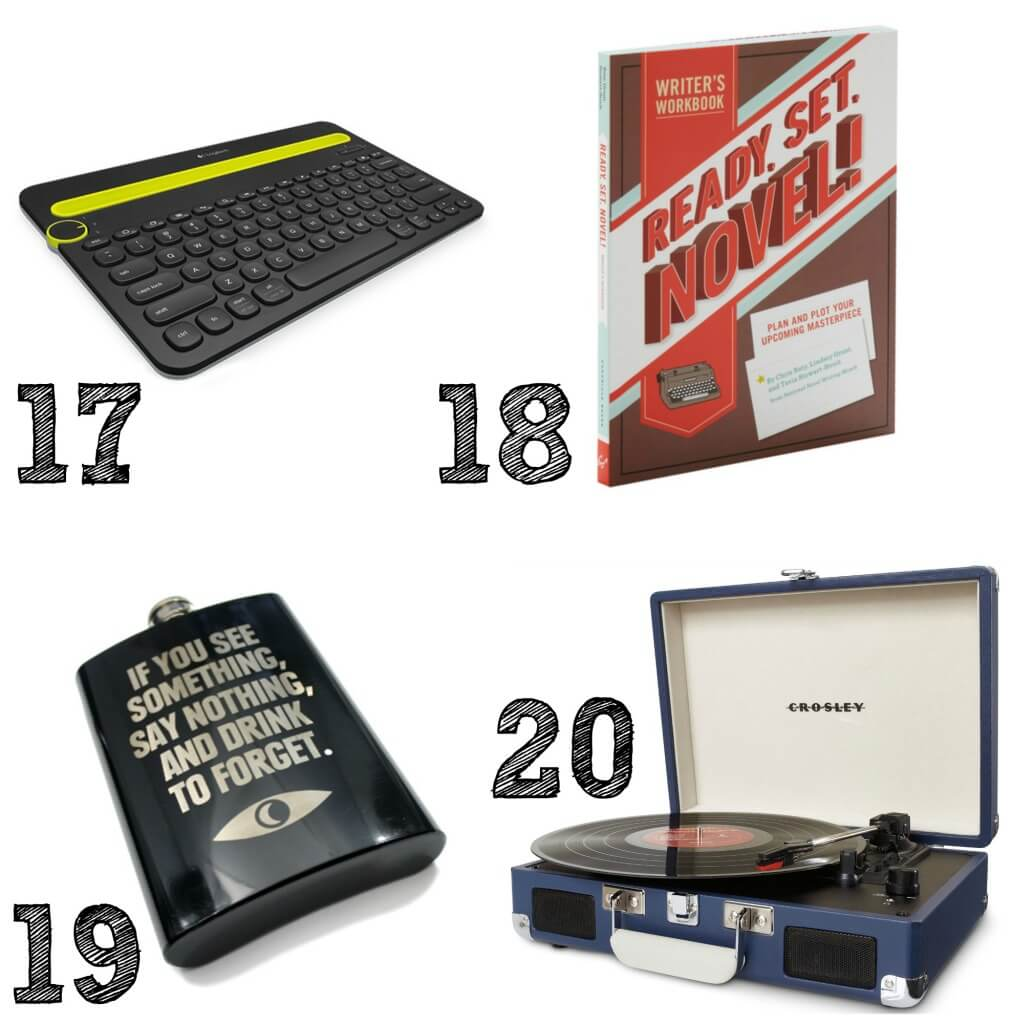 20 Gifts for the Modern Geek - from games to tech there's a gift for the geek in your life. Living Better Together