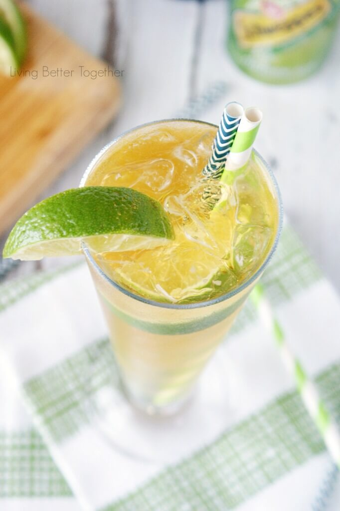 This Irish Buck Cocktail from Living Better Together is a bright mix of smooth Irish whiskey, ginger ale, and lime juice and it's sure to make you want to dance!