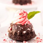 These Mini Chocolate Peppermint Bundt Cakesare a rich, decadent single-serve dessert made with cocoa powder, coffee, and topped with peppermint whipped cream, these treats taste like a coffeehouse favorite!