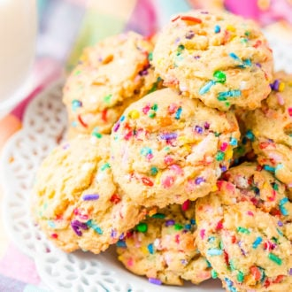 Looking for some delicious Cookie Recipes for the holidays or just because? You'll love this list of a variety of over 30 delicious recipes to cure your cookie cravings!