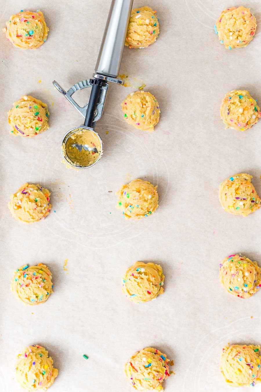 These Birthday Cake Pudding Cookies are sweet, chewy and loaded up with sprinkles. Tempting vanilla makes them the perfect alternative to cake, or you know, have both! I did!