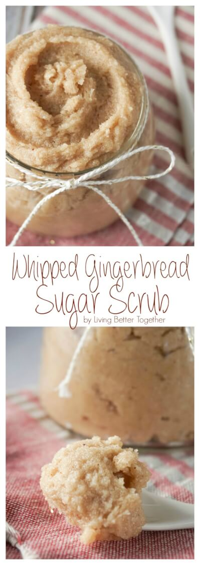 Whipped Gingerbread Sugar Scrub