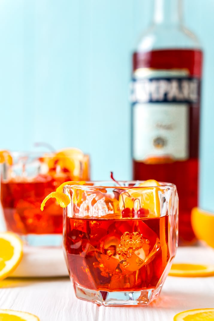 How to make a Boulevardier drink