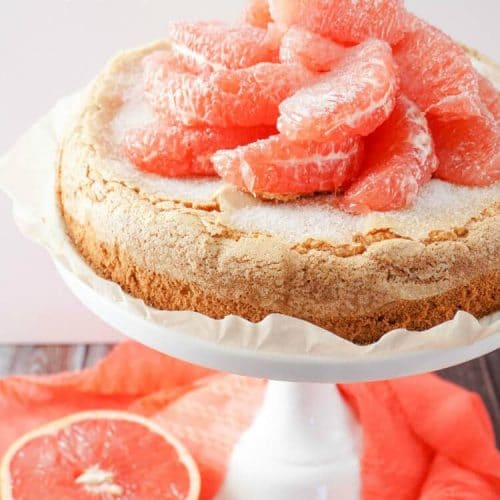 Grapefruit Olive Oil Cake