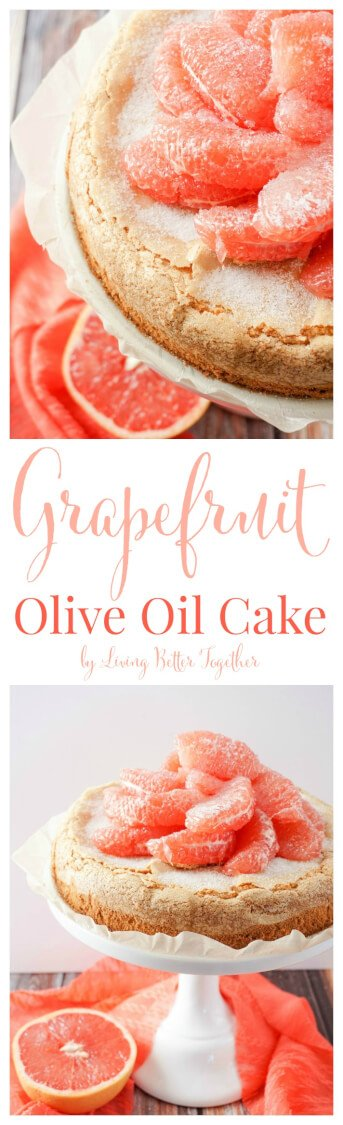 This light Olive Oil Cake is brightened up with fresh and vibrant ...