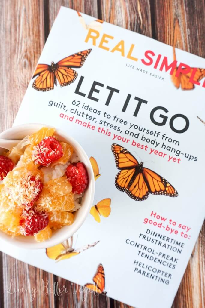 How One Little Word can change your life. Discover your passion, your dreams, and yourself and grab a bowl of Raspberry Clementine Coconut Rice Pudding while you're at it. #PMedia #NewYearMeTime #Ad