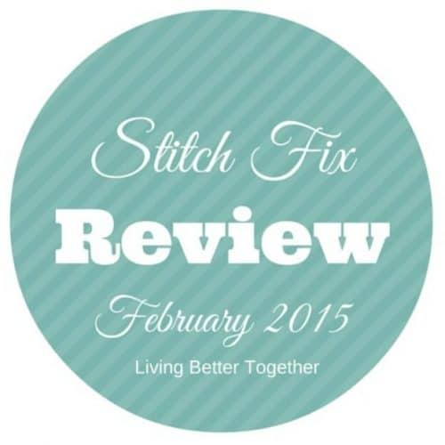 Stitch Fix Review February 2015