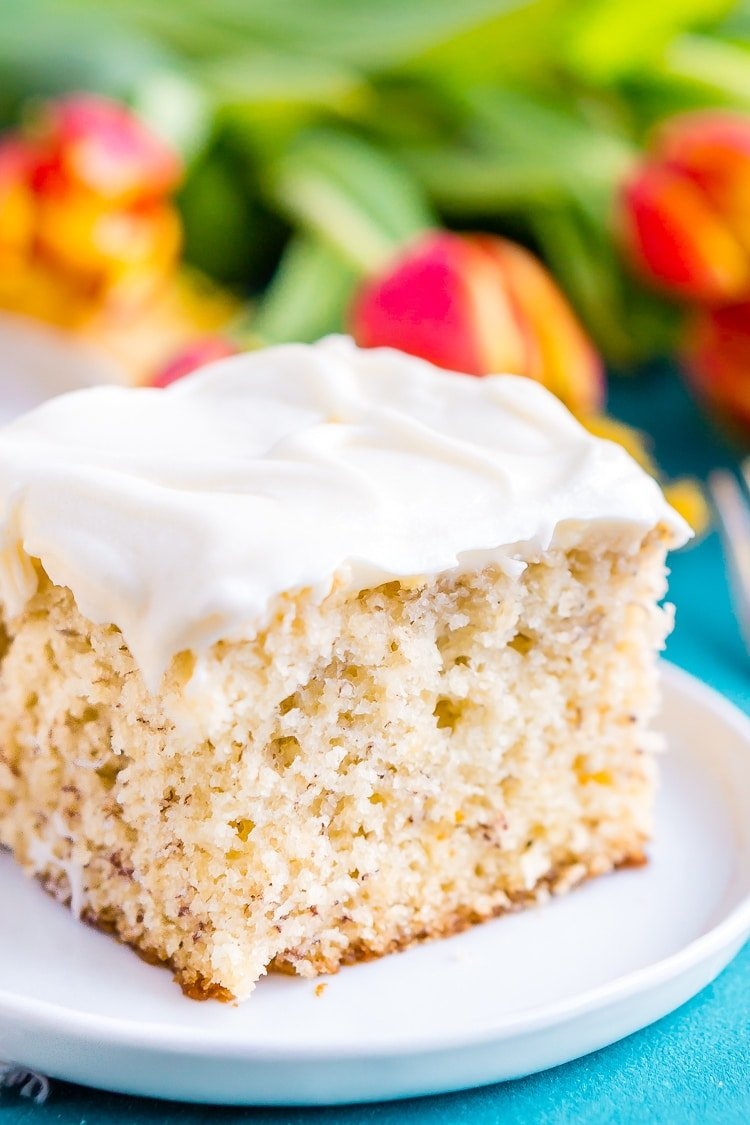 The Best Ever Banana Cake Recipe Sugar And Soul