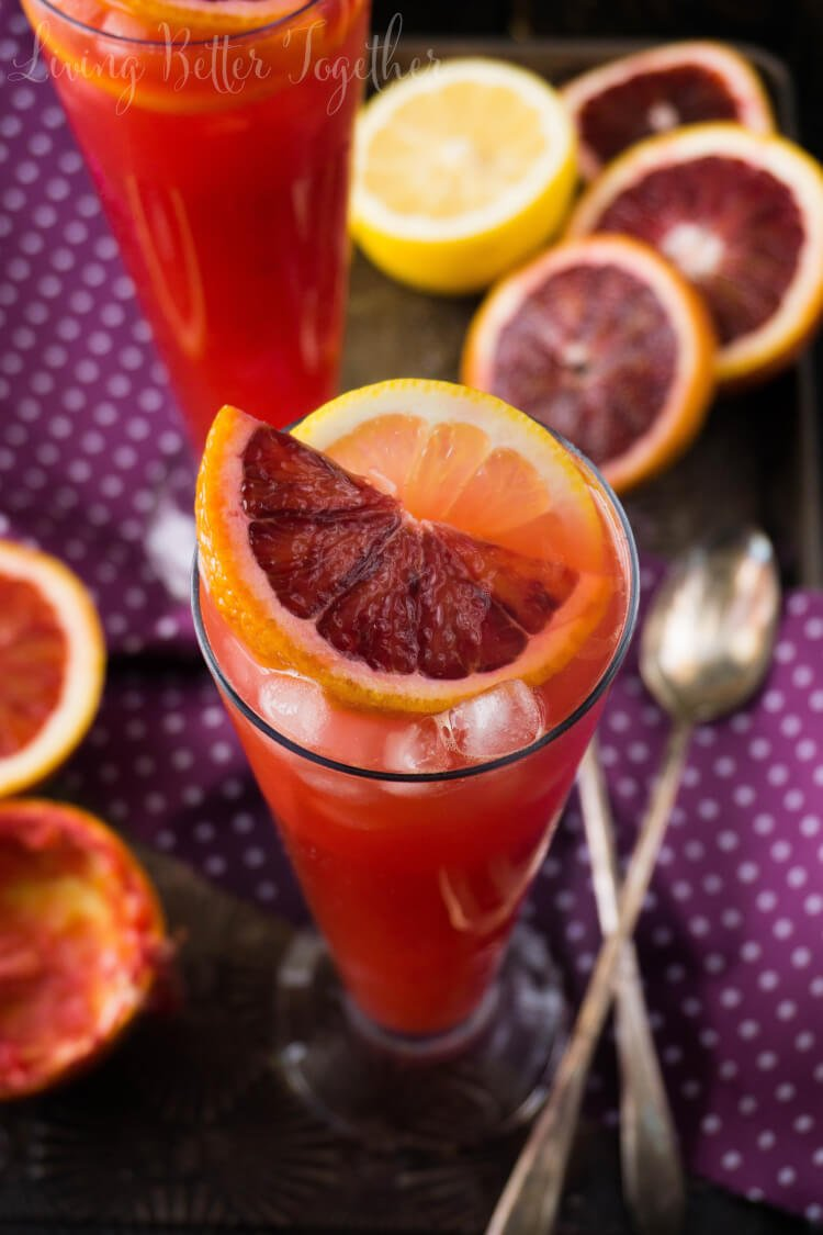 Citrus Tango – Gin & Blood Orange Cocktail