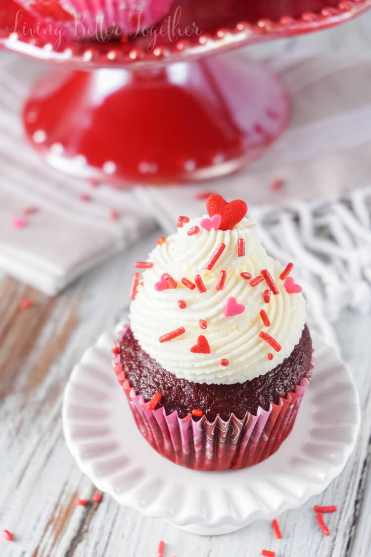 5 Ingredient Red Velvet Cupcakes Recipe Sugar Amp Soul