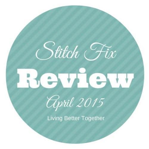 April 2015 Stitch Fix Review