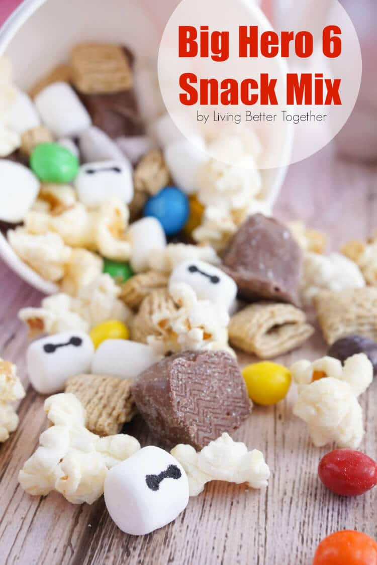 Big Hero 6 Snack Mix