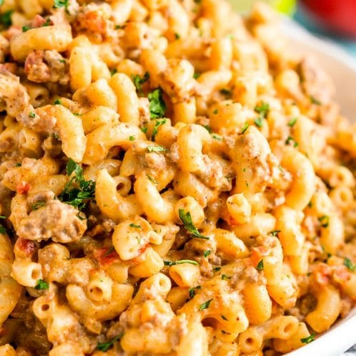 One-Pot Chili Mac n Cheese