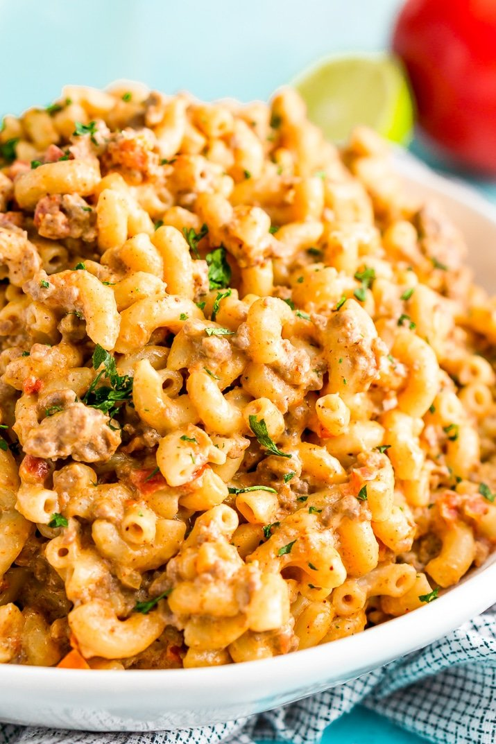 One Pot Chili Mac And Cheese Recipe Sugar Soul